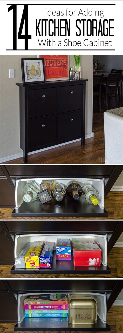 storage ideas for kitchen cabinets add kitchen storage in a small space