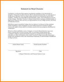 6 moral character letter for immigration fancy resume