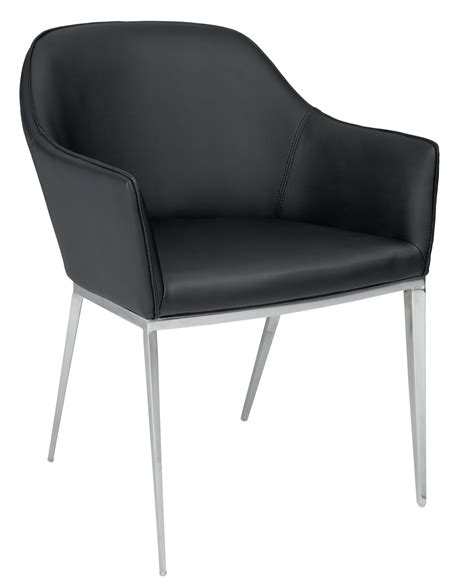 Black Armchair by Stanis Black Armchair From Sunpan 13022 Coleman Furniture