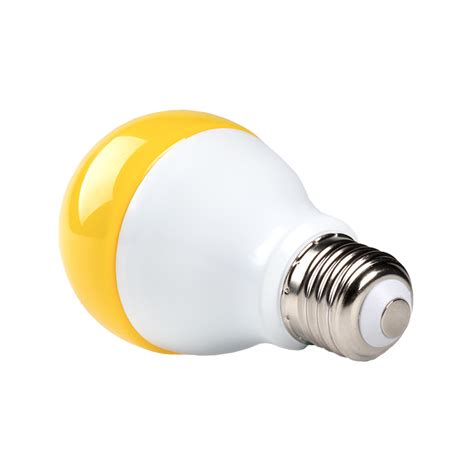 Bug Light Bulbs Led Led Bug Light Bulb A19 Yellow 75 Watt Equivalent 940 Lumens Led Shop Lights Garage
