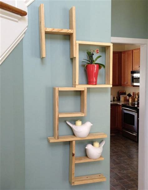 wooden decor pallet shelves with wall decor pallet wood projects