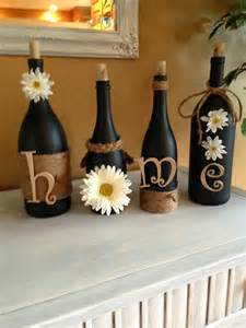 home craft decor 25 best ideas about wine bottles on pinterest