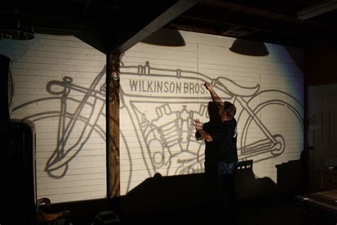 wall projectors for murals 9 cool creative ways to use a projector