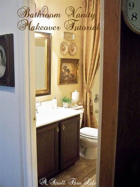 steps to painting a bathroom bathroom vanity makeover step by step tutorial hometalk