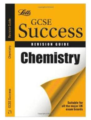 letts gcse revision success buy letts gcse success revision guide chemistry book from snazal united kingdom id 1152615