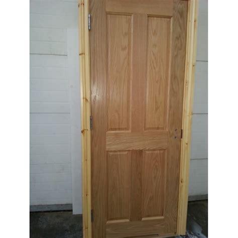 prehung doors pre hung 4 panel oak door with deal frame set