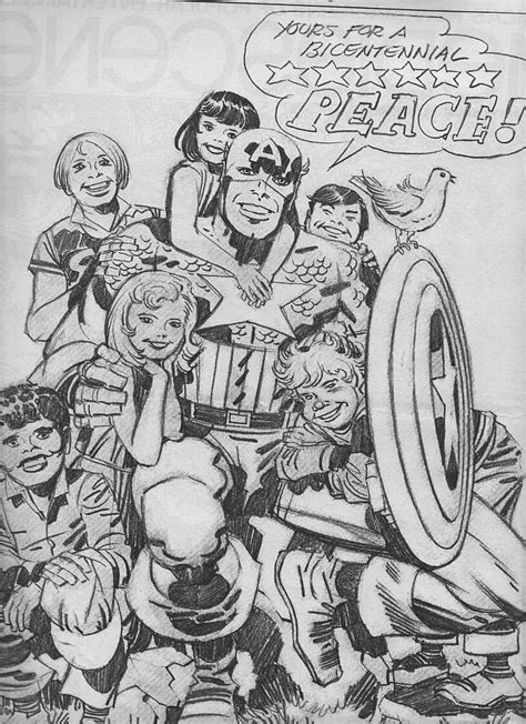 Captain America Peace Forever Kaos uncategorized kirby dynamics page 5