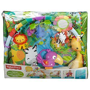 fisher price music and lights deluxe gym rainforest rainforest music lights deluxe gym
