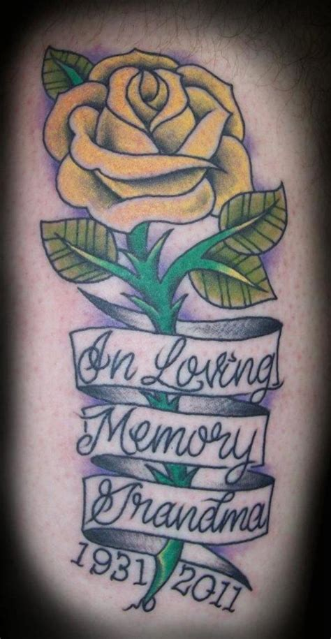 25 endearing in loving memory tattoos