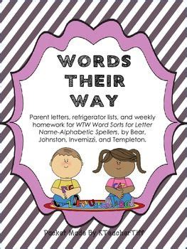 Parent Letter Words Their Way 25 Best Ideas About Parent Information Packet On