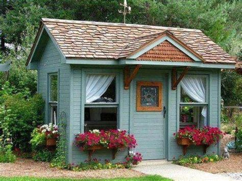 pretty shed cute shed turned into playhouse to build pinterest sheds