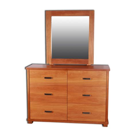 Mirror And Dresser by Zee 6 Drawer Dresser And Mirror