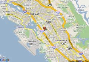 map of quality inn oakland oakland
