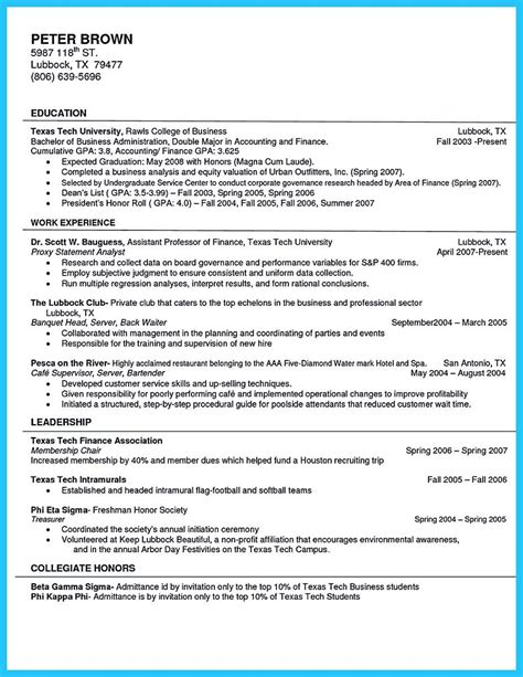 Barista Description Resume by Barista Resume Template Description Sles For Sle