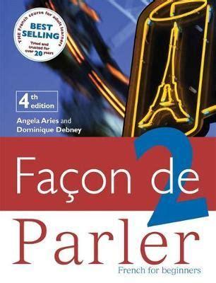 facon de parler 2 student book angela aries 9780340940228