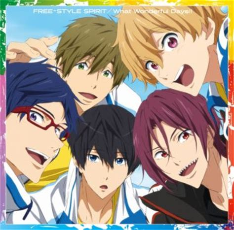 anime free take your marks free style spirit what wonderful days mp3 320k