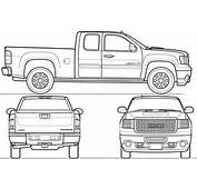 Gallery For &gt Gmc Truck Drawings