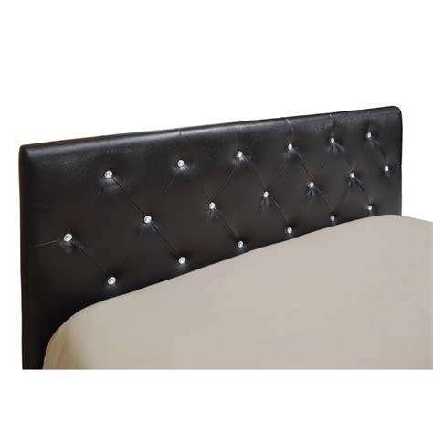 leather headboard full furniture of america kylen full queen leather headboard in