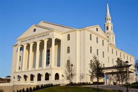 Dallas Baptist Mba Tuition by Dallas Baptist Tuition And Fees 22 350