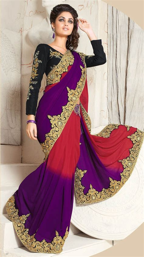 fashion and styles latest bridal saree 2013 l