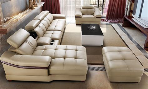 china sofa set designs ivory sectional living room 6pieces set sofa set modern