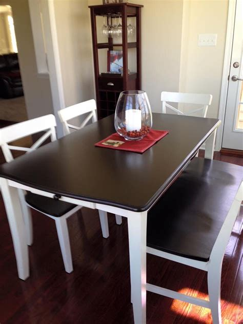 How To Stain A Dining Room Table by Dining Room Table Done In Java Gel Stain On Top And