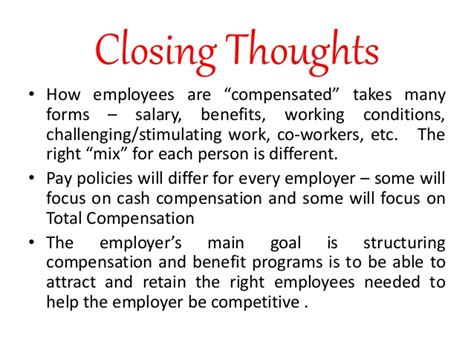 Compensation And Benefits Project For Mba by Compensation Benefits And Services