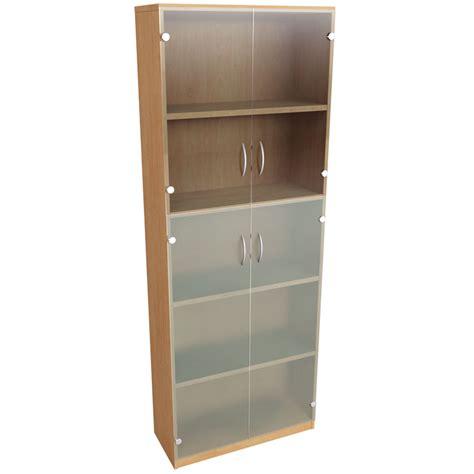 2 Shelf Bookcase With Doors Dorset Office Furniture Seating Desks Reception Furniture Bookcase 4 Shelf Doors