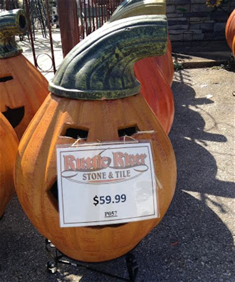 Pumpkin Chiminea For Sale Halcyon Days Fall Decorations