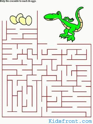 printable maze for 3 years old 6 9 year olds down syndrome