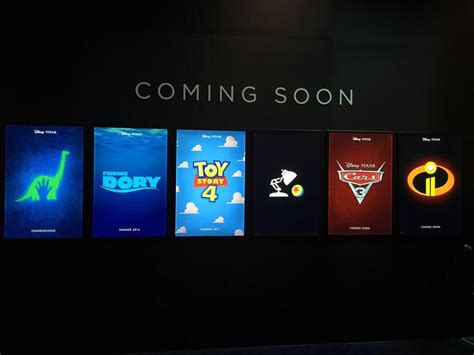 film disney coming soon see the first posters for finding dory the incredibles