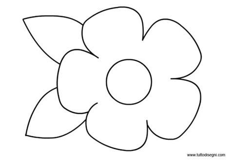 sagoma fiore da ritagliare sagoma fiore archives tutto disegni