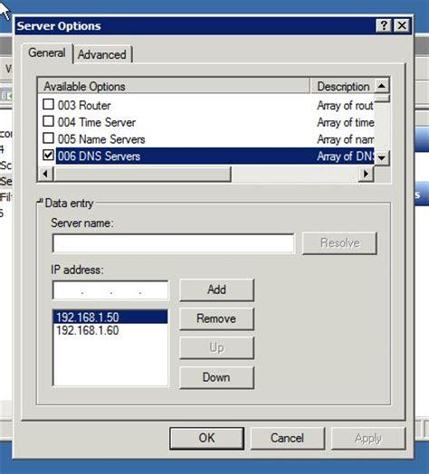 Configure L Server by Domain Name System Windows Server 2008 R2 Dhcp Server