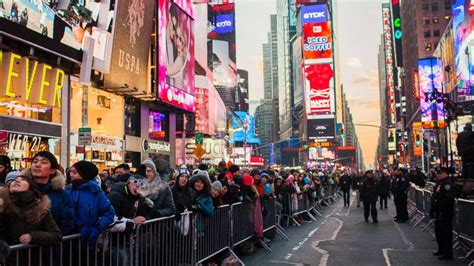 are there bathrooms in times square on nye times square ball drop news photos and videos abc news