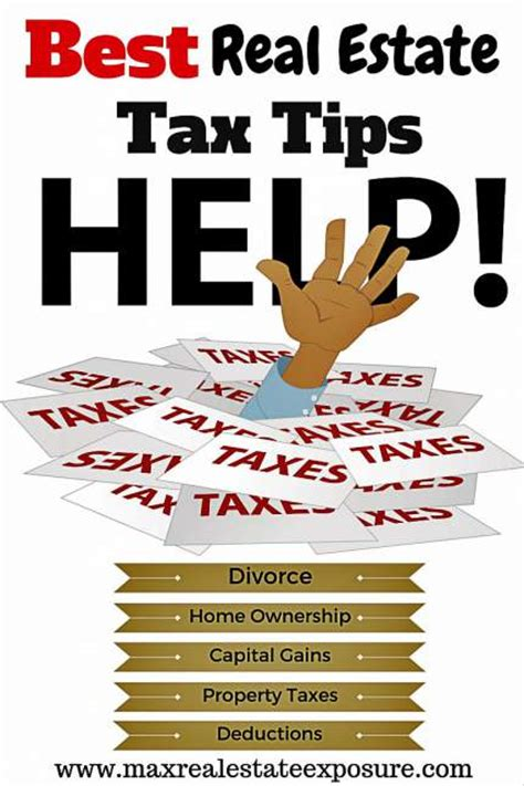 best real estate tax tips