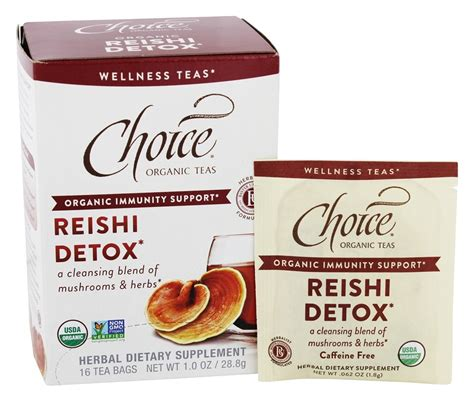 Detox C Malaysia by Buy Choice Organic Teas Reishi Detox Tea 16 Tea Bags