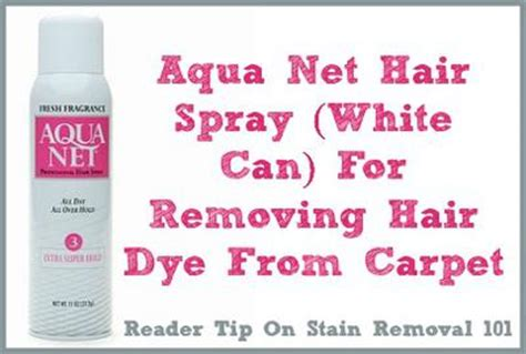 how to remove hair dye stains from bathroom surfaces hair dye removal tips for clothes carpet other fibers