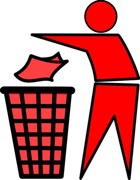 clipart rifiuti waste clip at clker vector clip