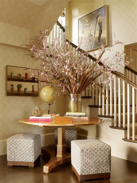 foyer wall decor foyer ideas decorating entry traditional with pink throw