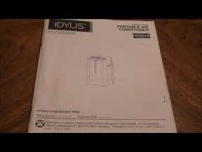 lowe s idylis 10 000 btu portable air conditioner