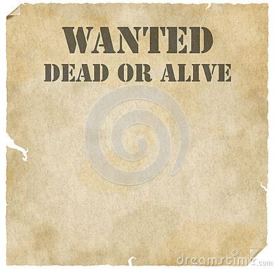 best photos of wanted dead or alive poster template