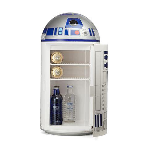 Outdoor Kitchen Blueprints R2 D2 14 Liter Fridge Thinkgeek