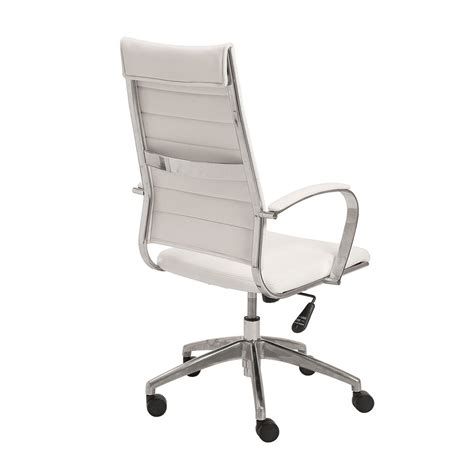 axel high back white office chair office chairs