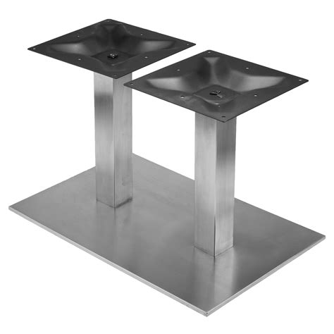 Coffee Table Legs And Bases Rsq1828 Stainless Steel Table Base Rsq Series Table Bases Table Bases By Series Table