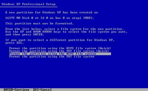 format video windows xp how to format a computer windows xp 7 8 vista