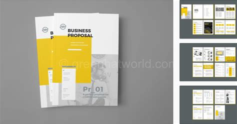 Design Proposal Psd | download proposal template psd free