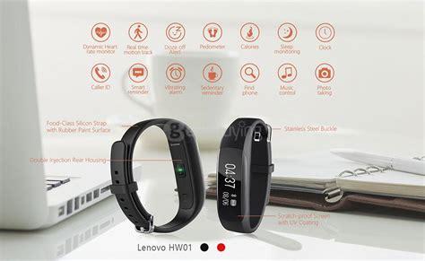 Lenovo Hw01 lenovo hw01 bluetooth 4 2 smart wristband black