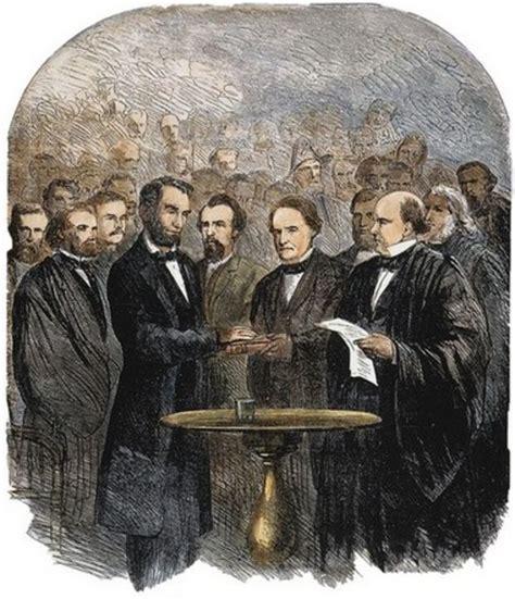 lincoln inaugural address 1865 transcript of abraham lincoln s second inaugural address