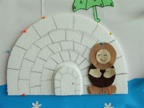 igloo crafts for 1000 images about arctic theme on milk jug
