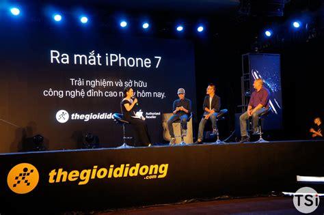 thế giới di động tổ chức sự kiện quot black is back quot mở b 225 n iphone 7 7 plus